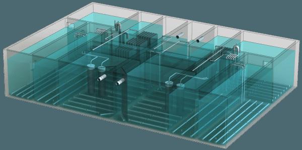 Установки BIOTAL залізобетонного виконання
