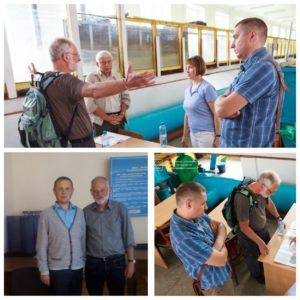 Оттмар Шоллер (немецкий эксперт по вопросам экологии компании Senior Expert Service) посетил нашу лабораторию технологии BIOTAL в НУВХП.