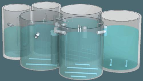 Blokově modulární podzemní instalace BP2R