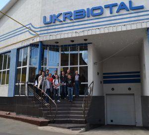ООО «UKRBIOTAL» посетили студенты и преподаватели из Франции.