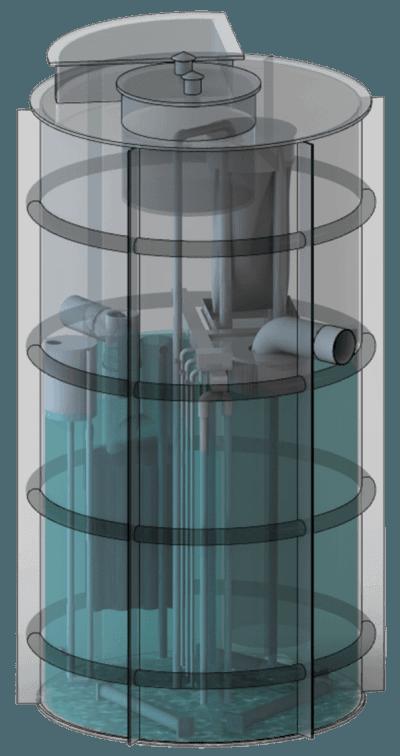 Моноблочные установки BIOTAL-ERD