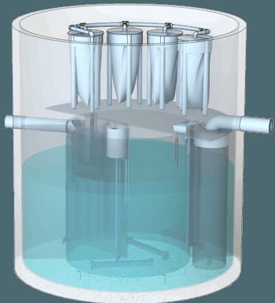 Моноблочні установки BIOTAL-MCD