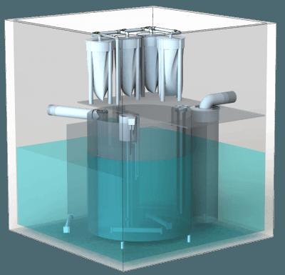 Моноблочные установки BIOTAL-MSD