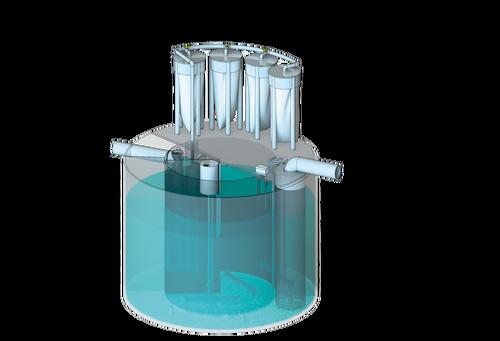 Моноблочні установки BIOTAL-MPD